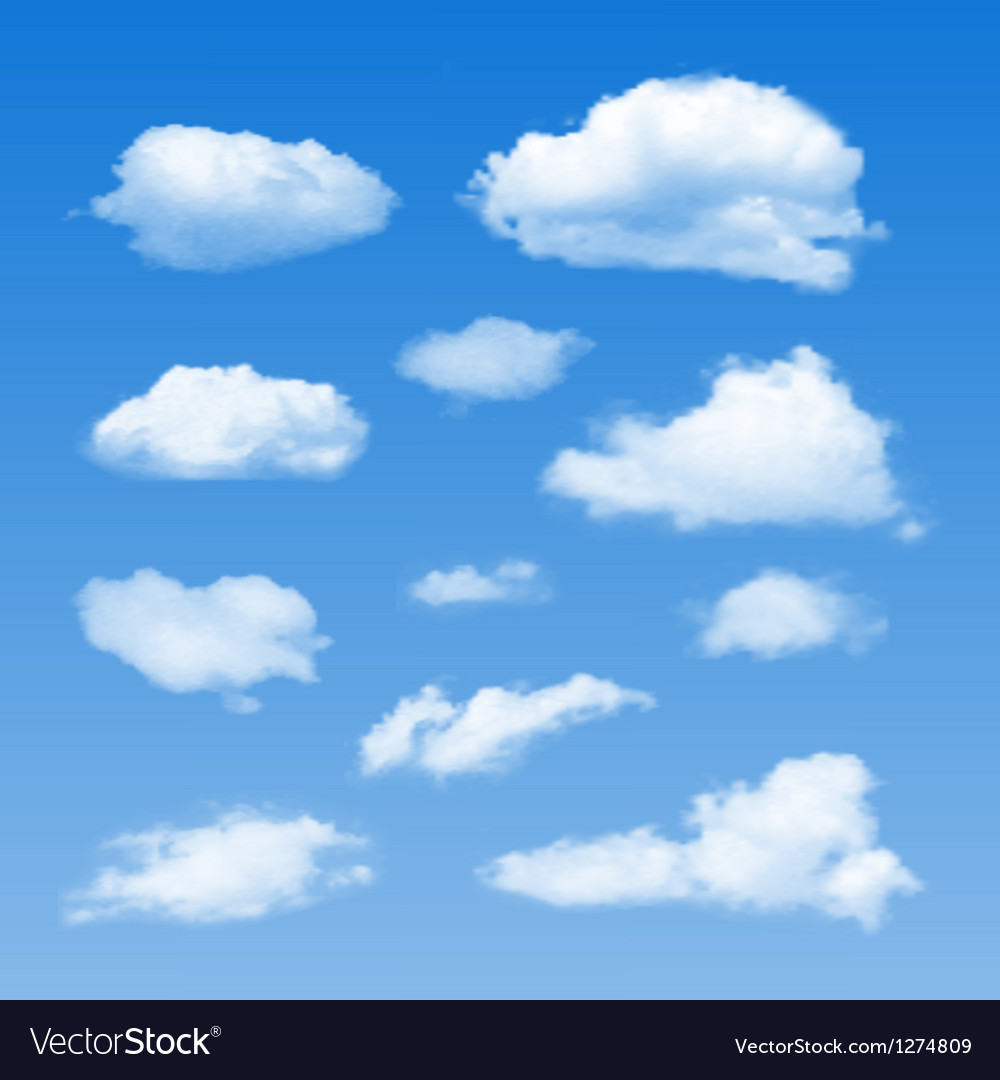 Collection cloud symbols