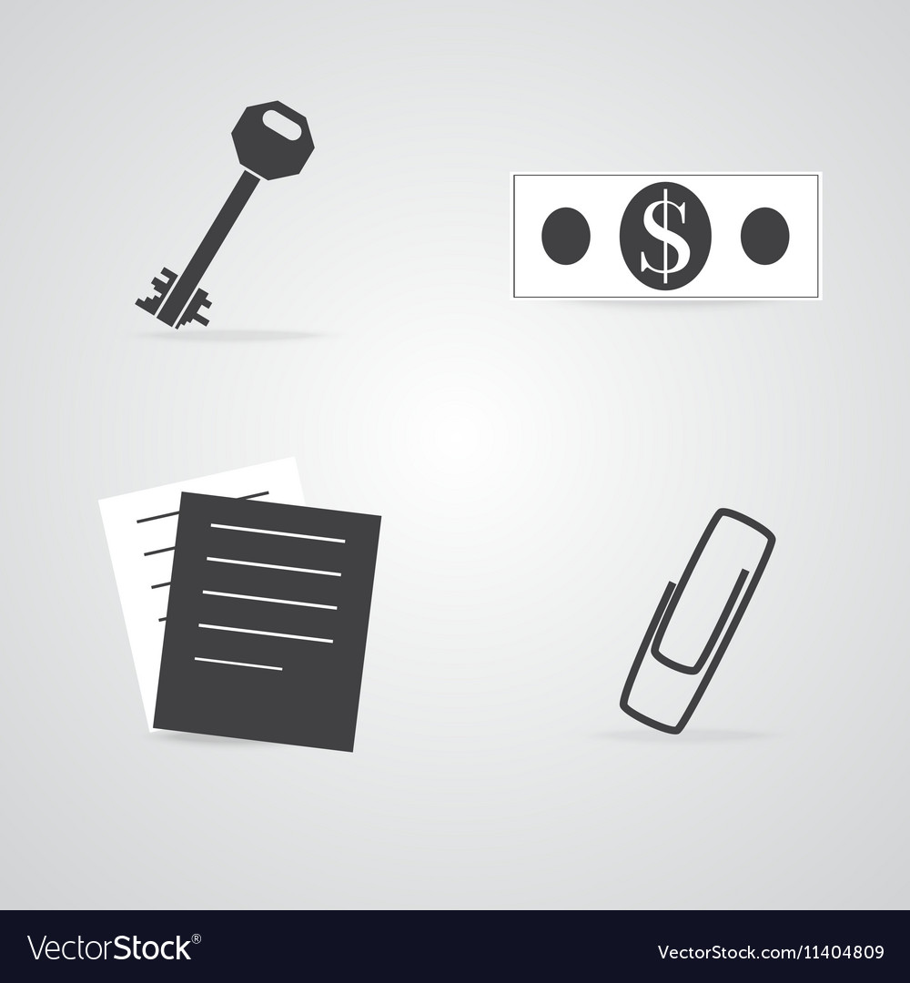 Commerce and Office Items Icons
