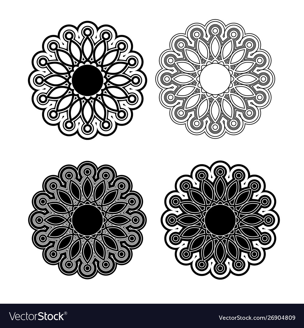 Vintage floral pattern for decorative design