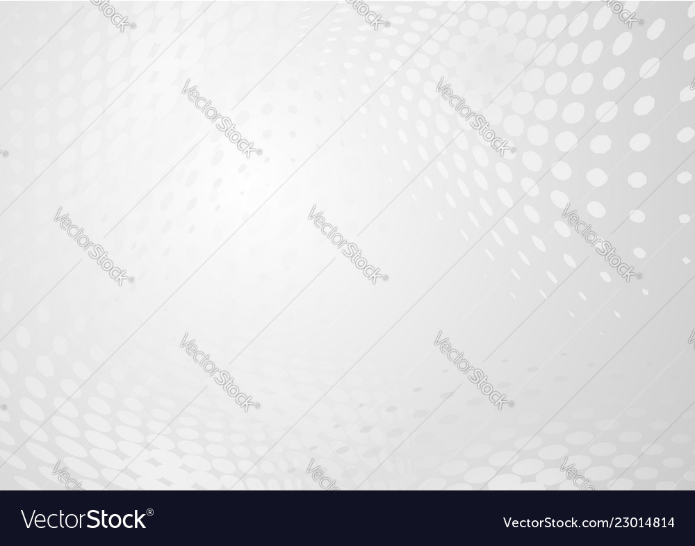 Abstract modern halftones on gray background