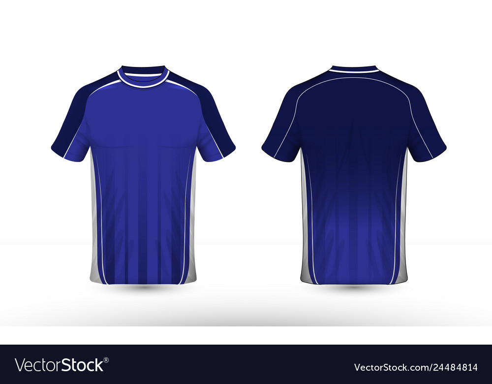 Blue and white layout e-sport t-shirt design