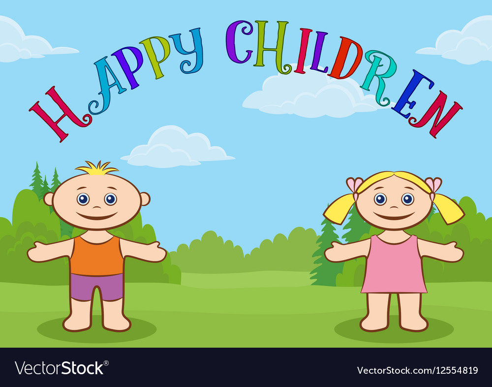 Children on Forest Glade