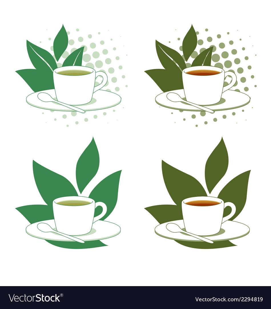 Green and Black Tea