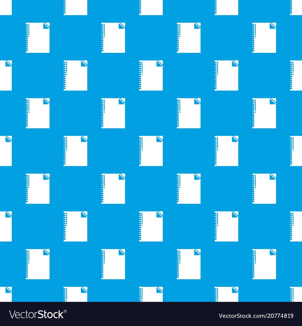 Notebook pattern seamless blue
