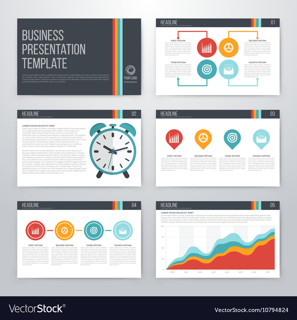graphic design presentation template