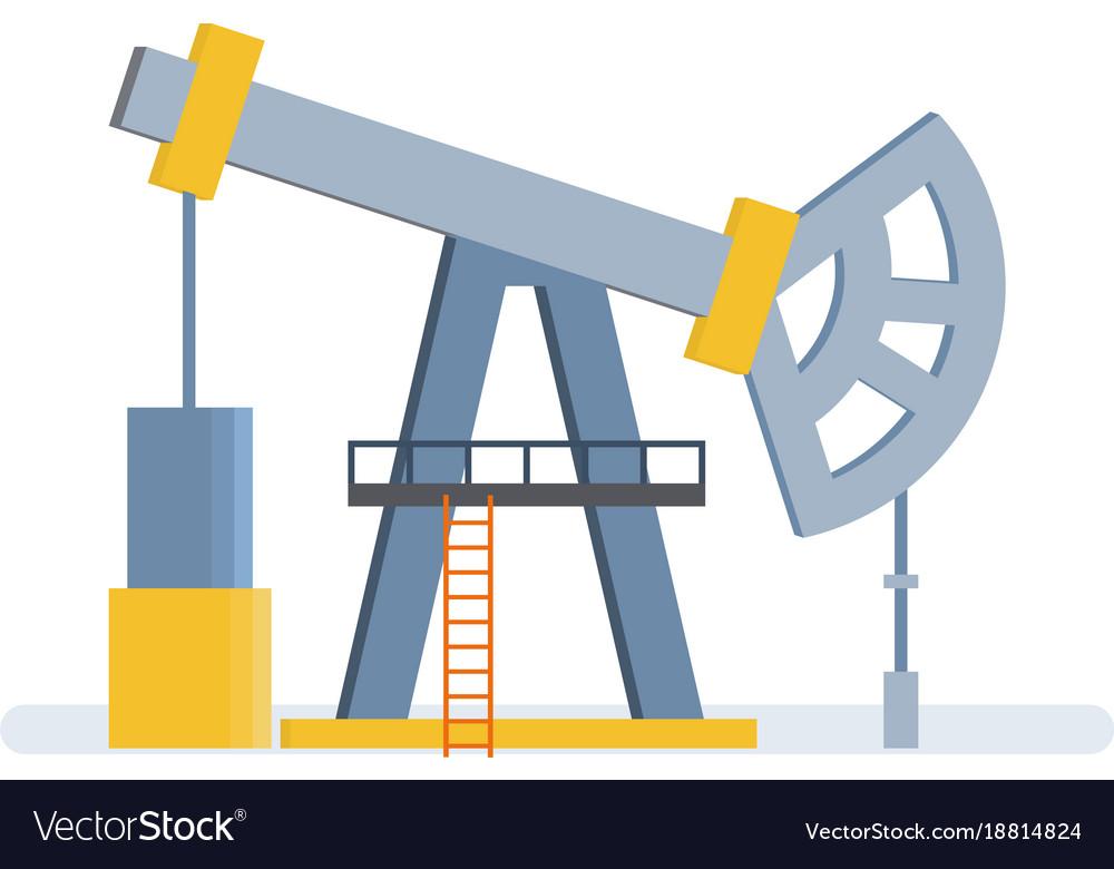 Oil crane lift storage of resources in tanks