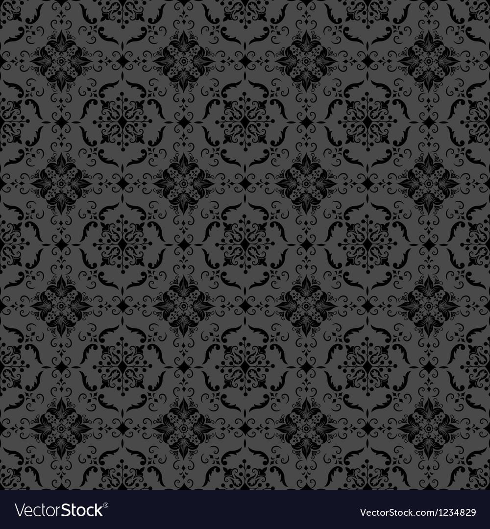 Elegant Floral Damask Pattern