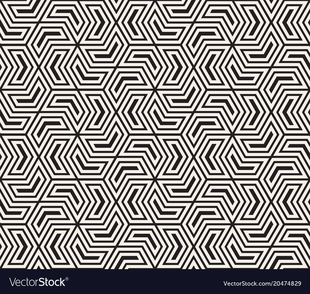 Seamless pattern modern stylish abstract