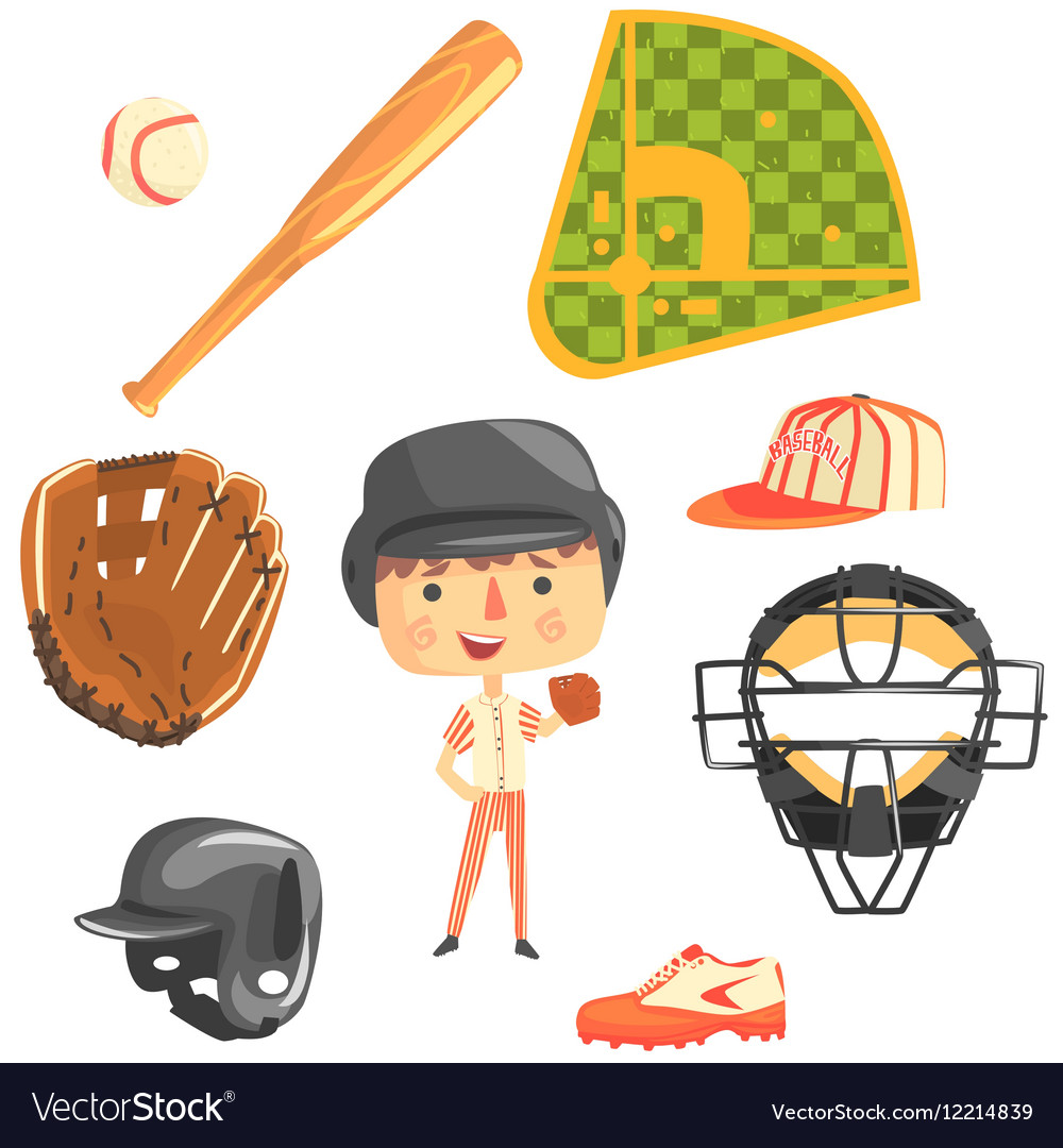 Boy Baseball PlayerKids Future Dream Professional