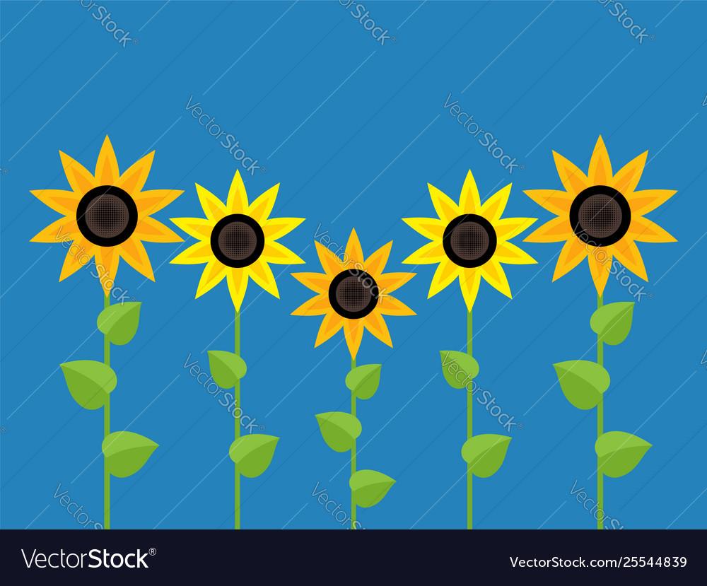 Sunflower symbols