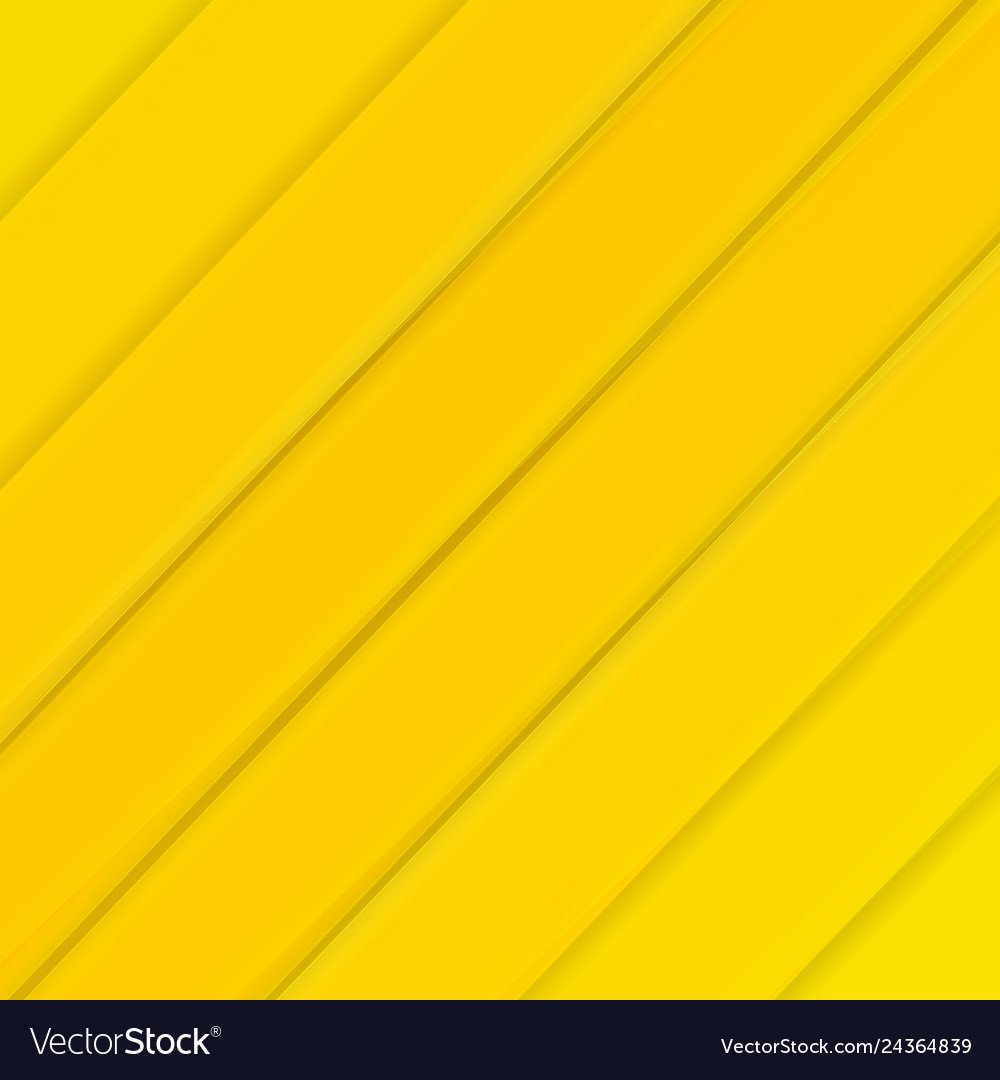 Yellow banner with line