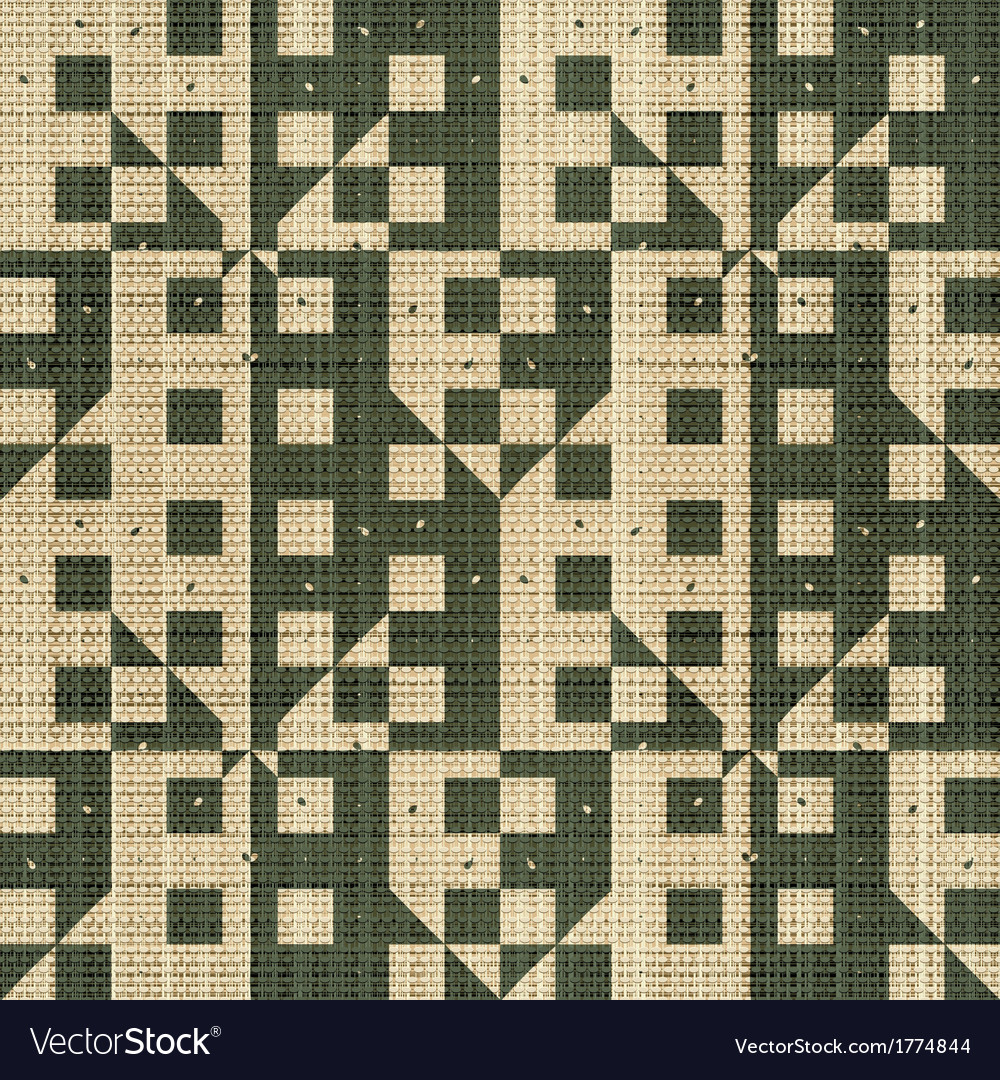 Abstract textile print vector image