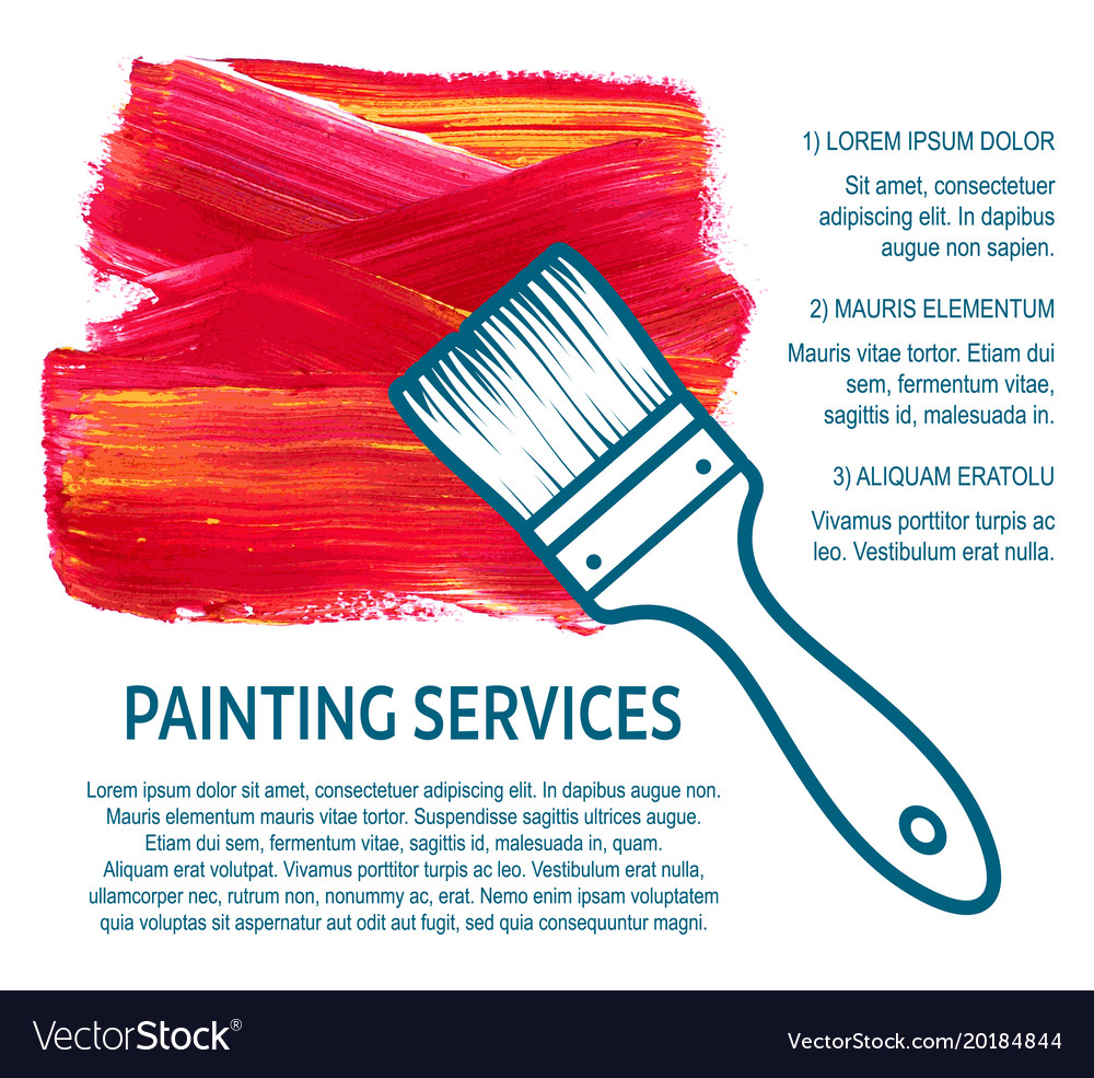 Concept for house painting services