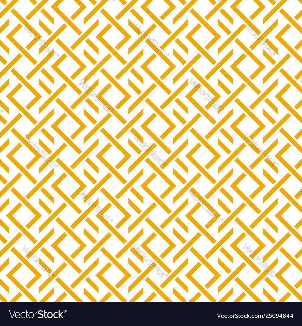 Geometric pattern with stripes