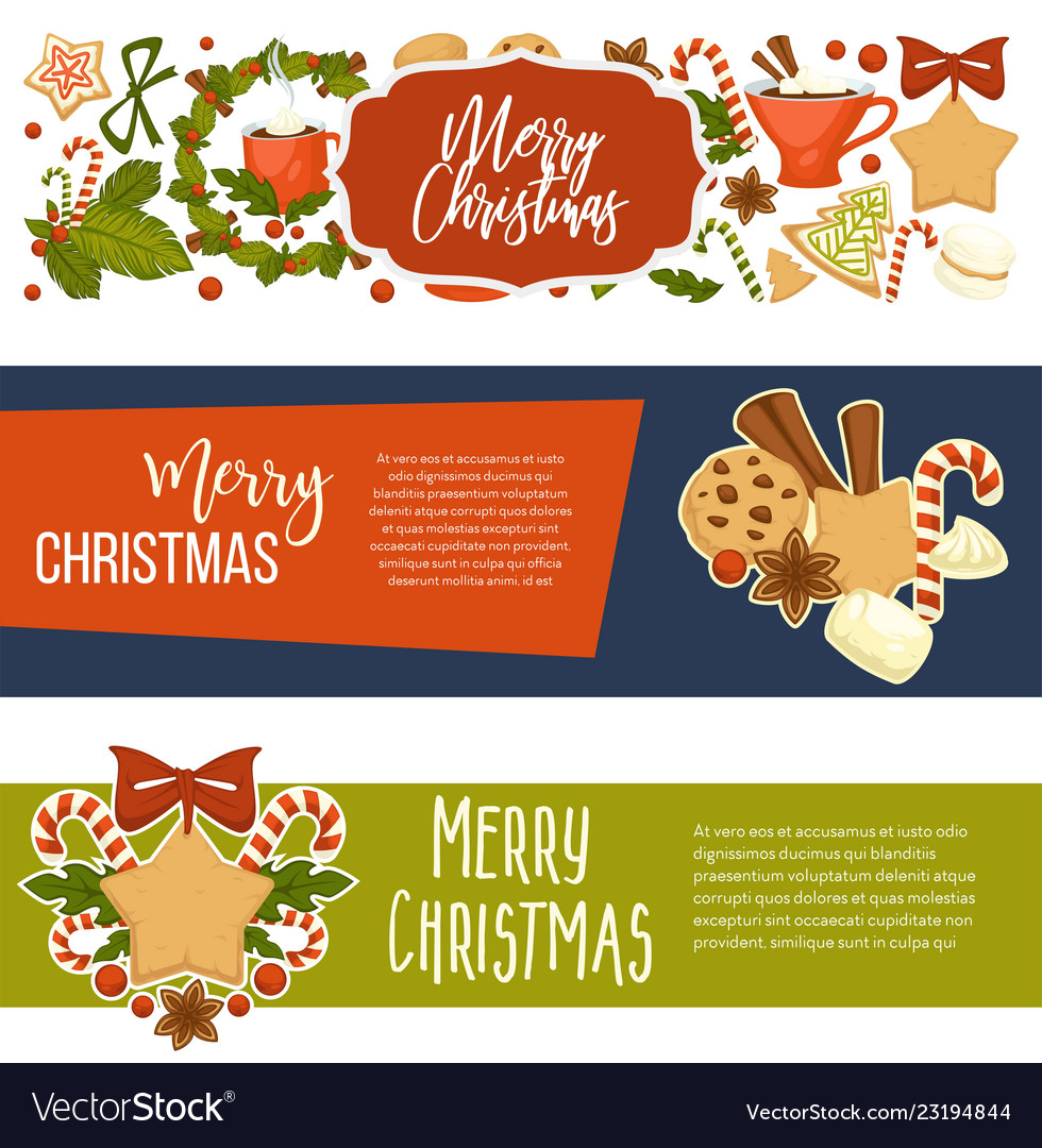 Winter Holiday Banners Background Hd Banners