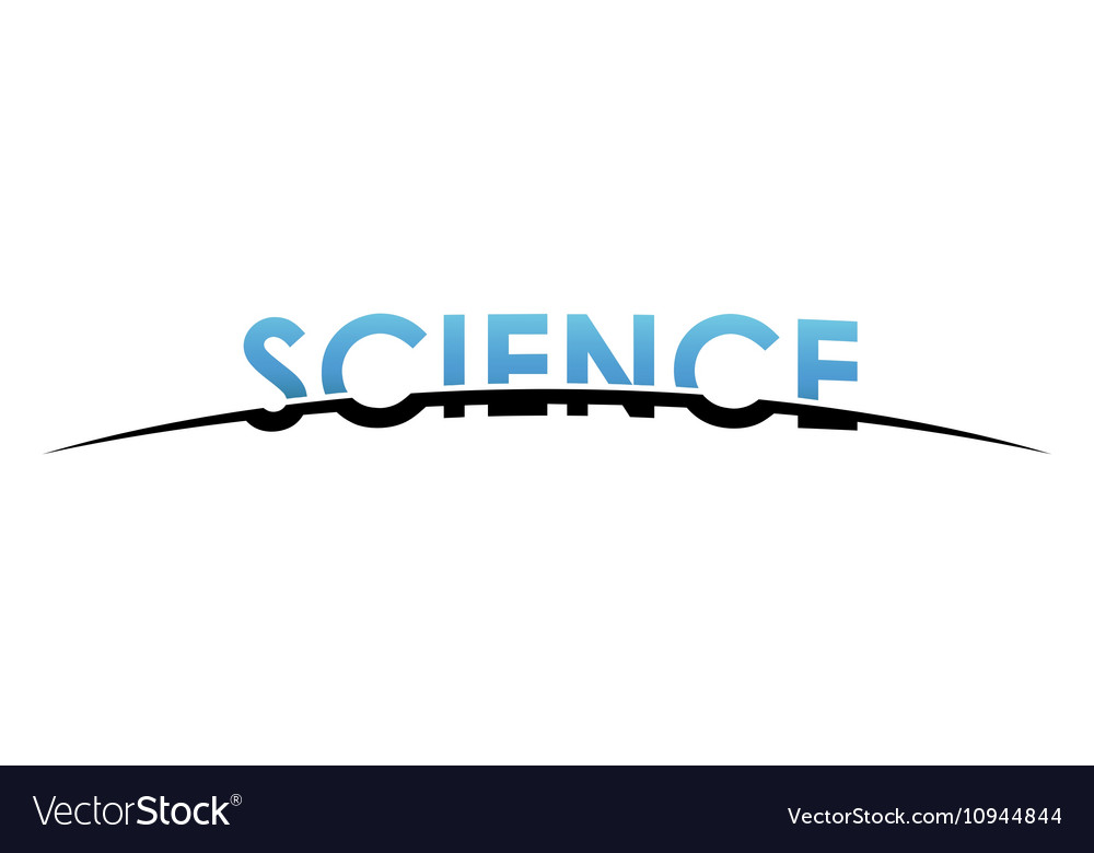 Science logo design Creative science design