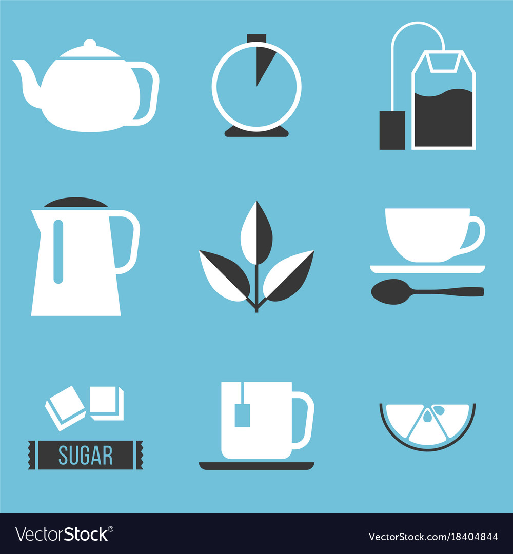 Tea preparation icon