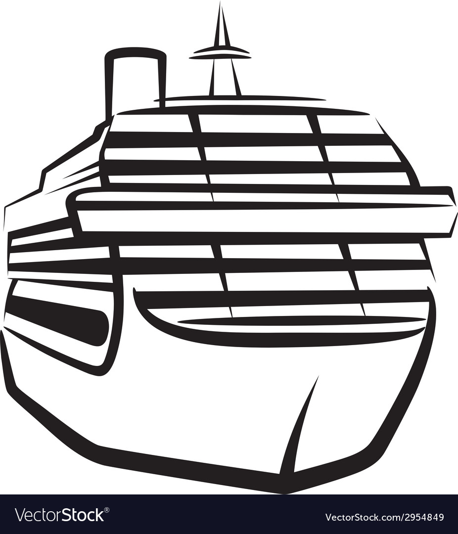 Simple with a ship