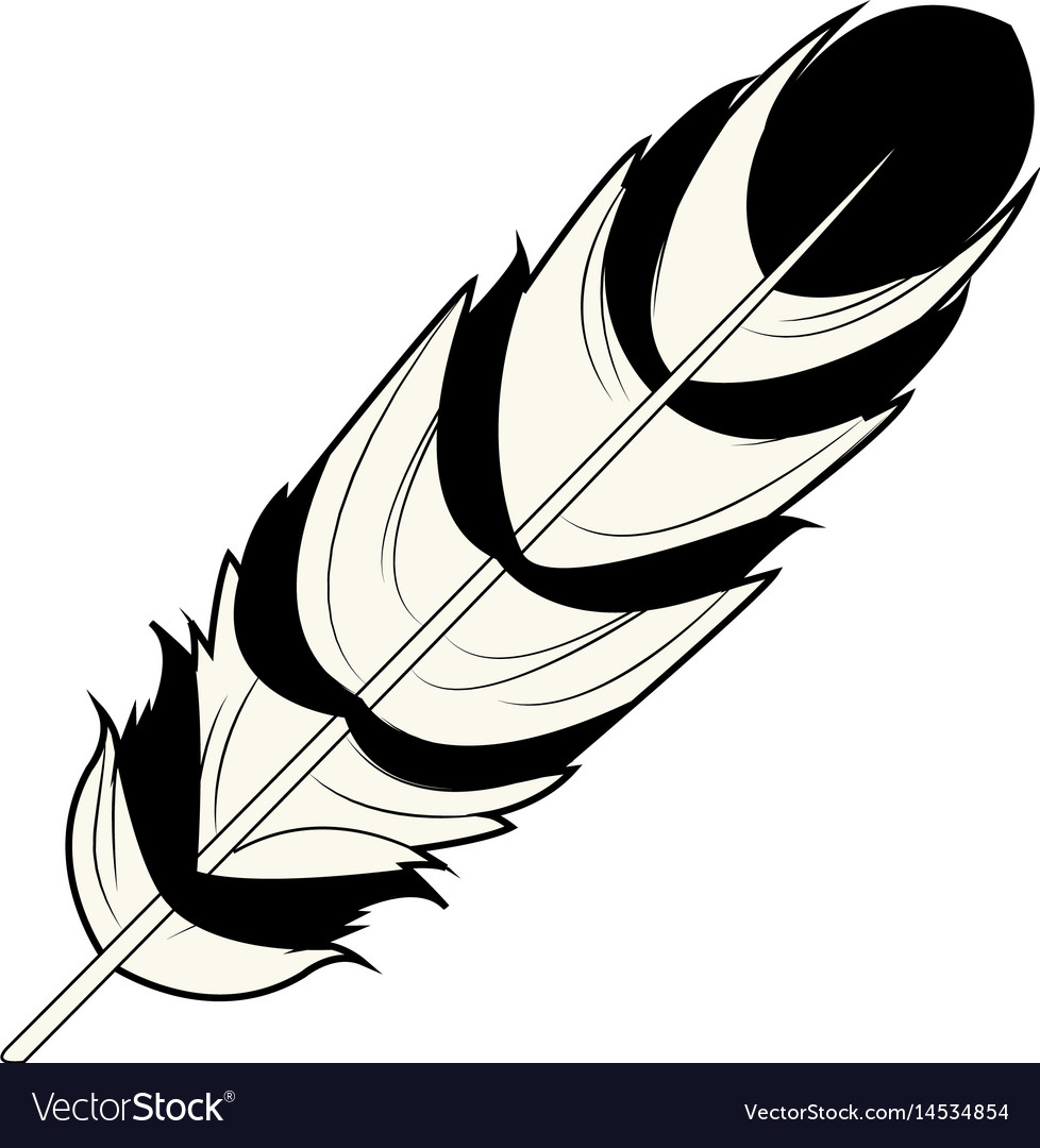 Feather free spirit rustic decoration ornate