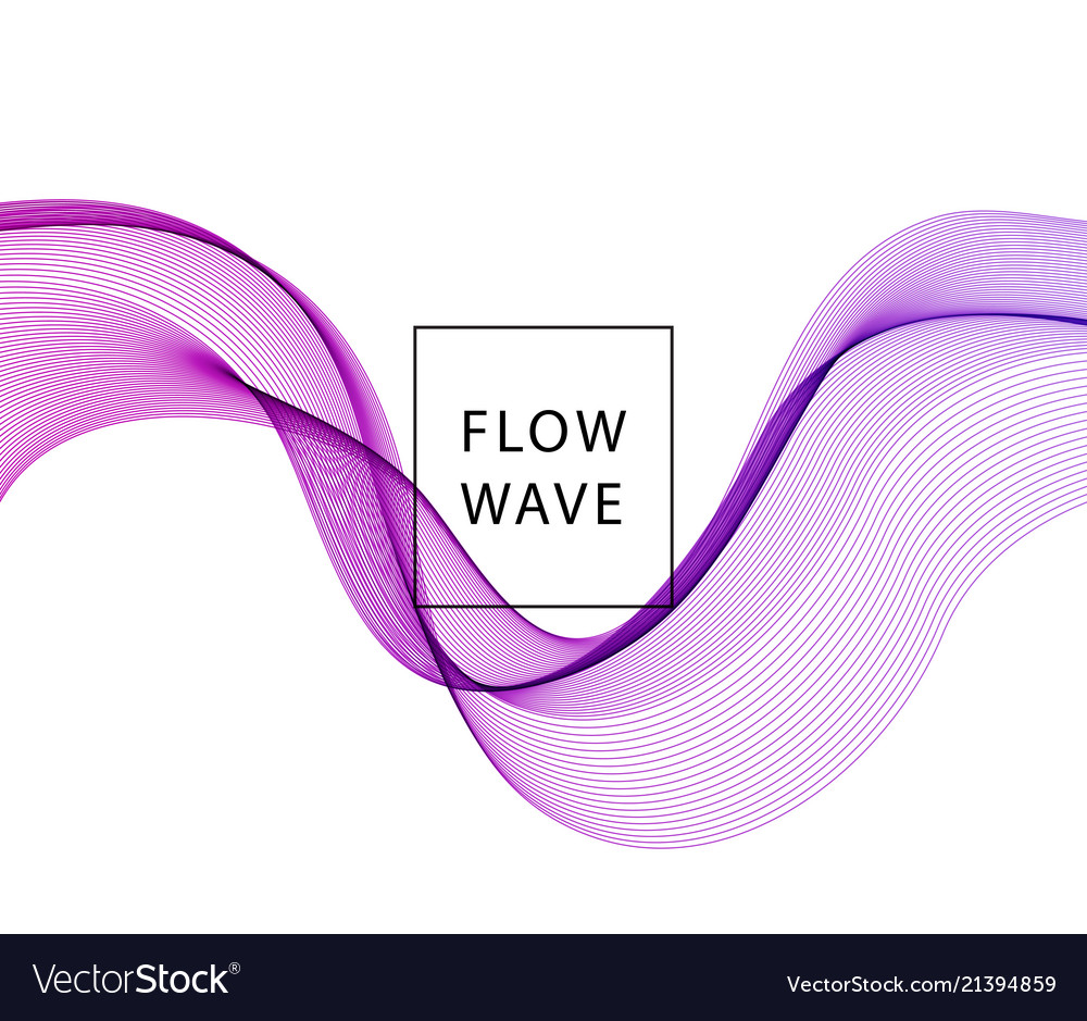 Abstract background purple wavy