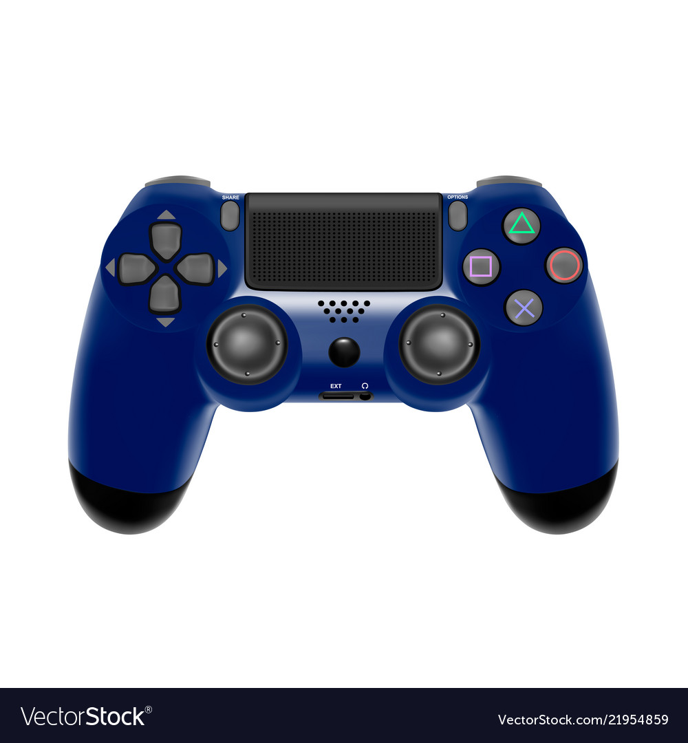 Gamepad for a console gamegame controller isolate