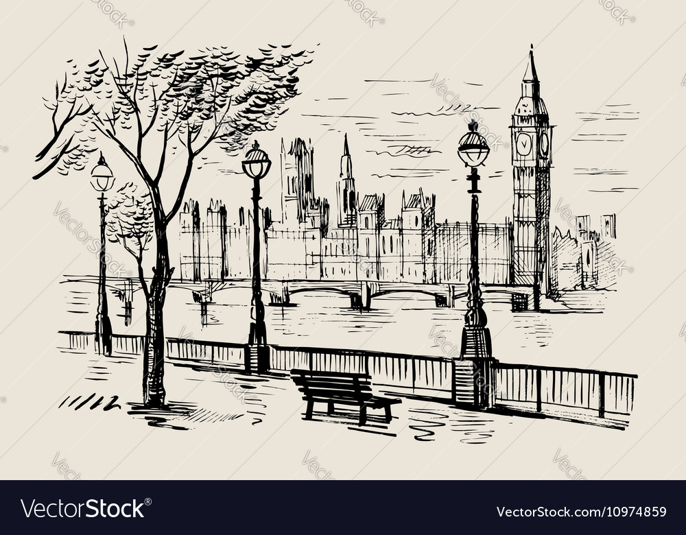 Hand-drawn London