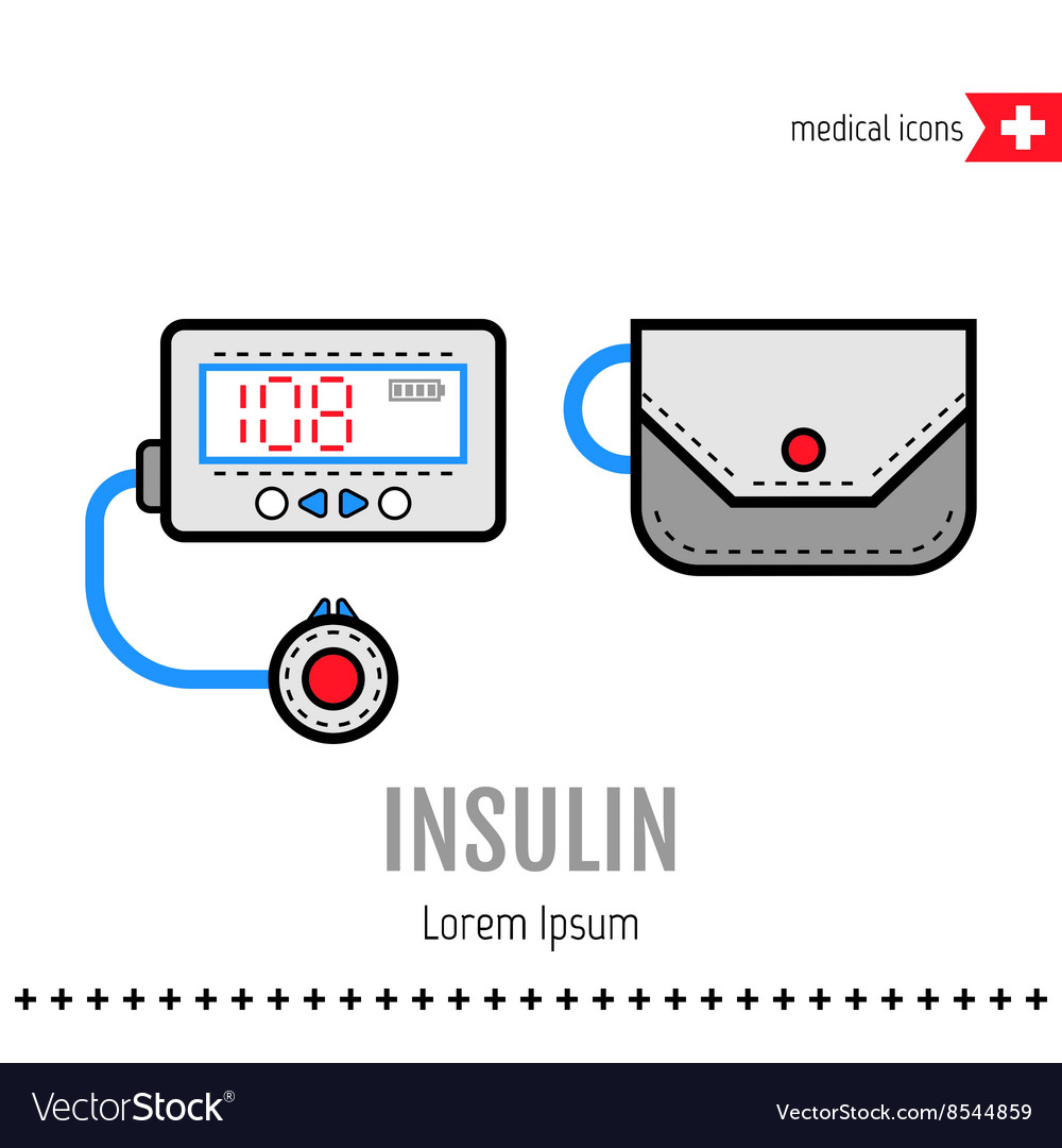 Insulin pump Equipment for diabetics Medical