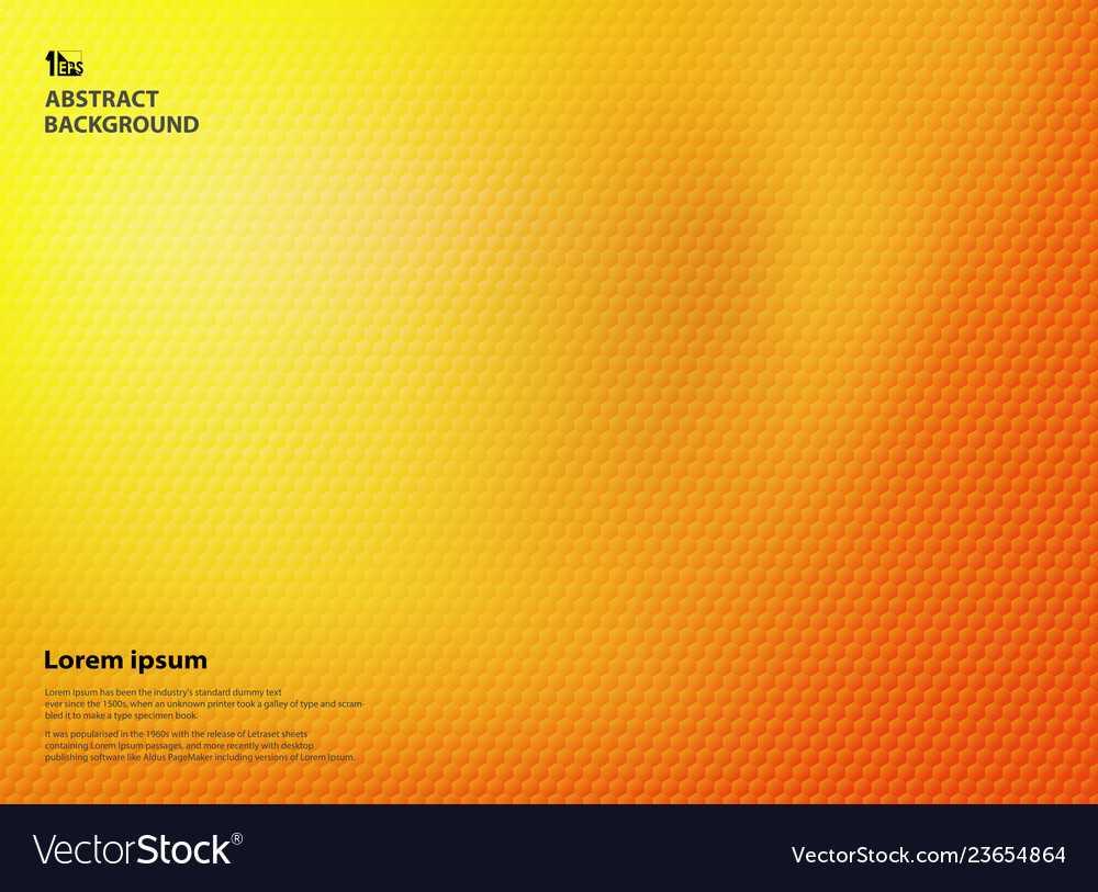 Abstract gradient yellow and orange colors with