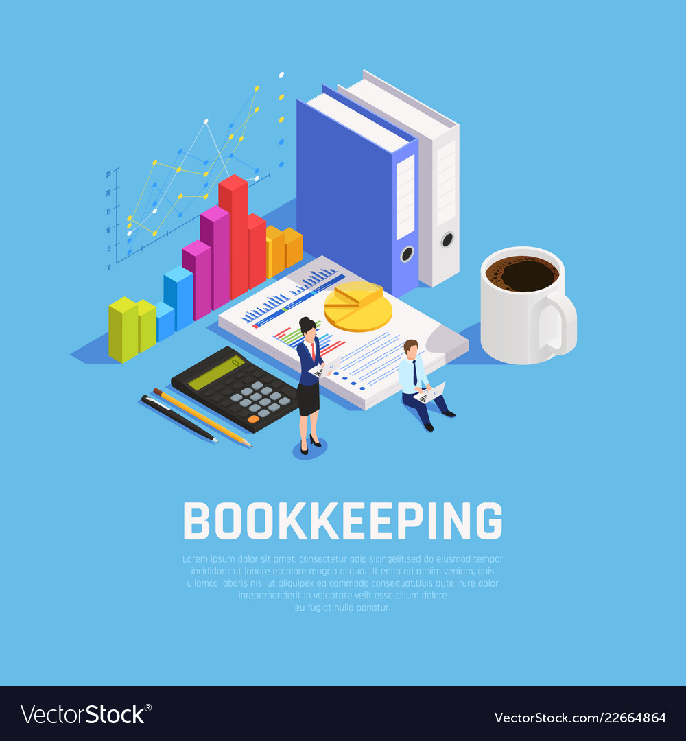 Book keeping isometric composition