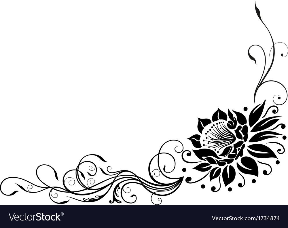 Lotus flower royalty free vector image vectorstock lotus flower vector image izmirmasajfo