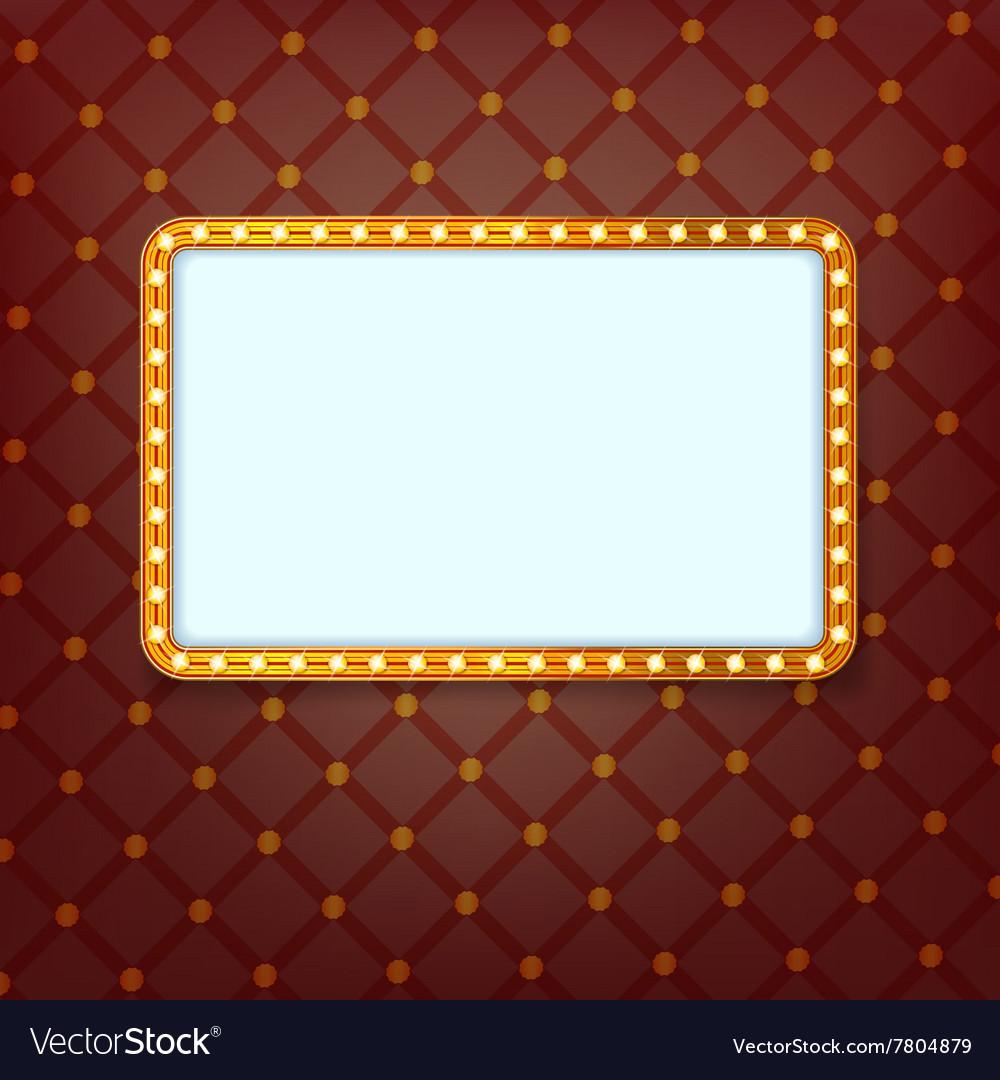Cinema frame vector image