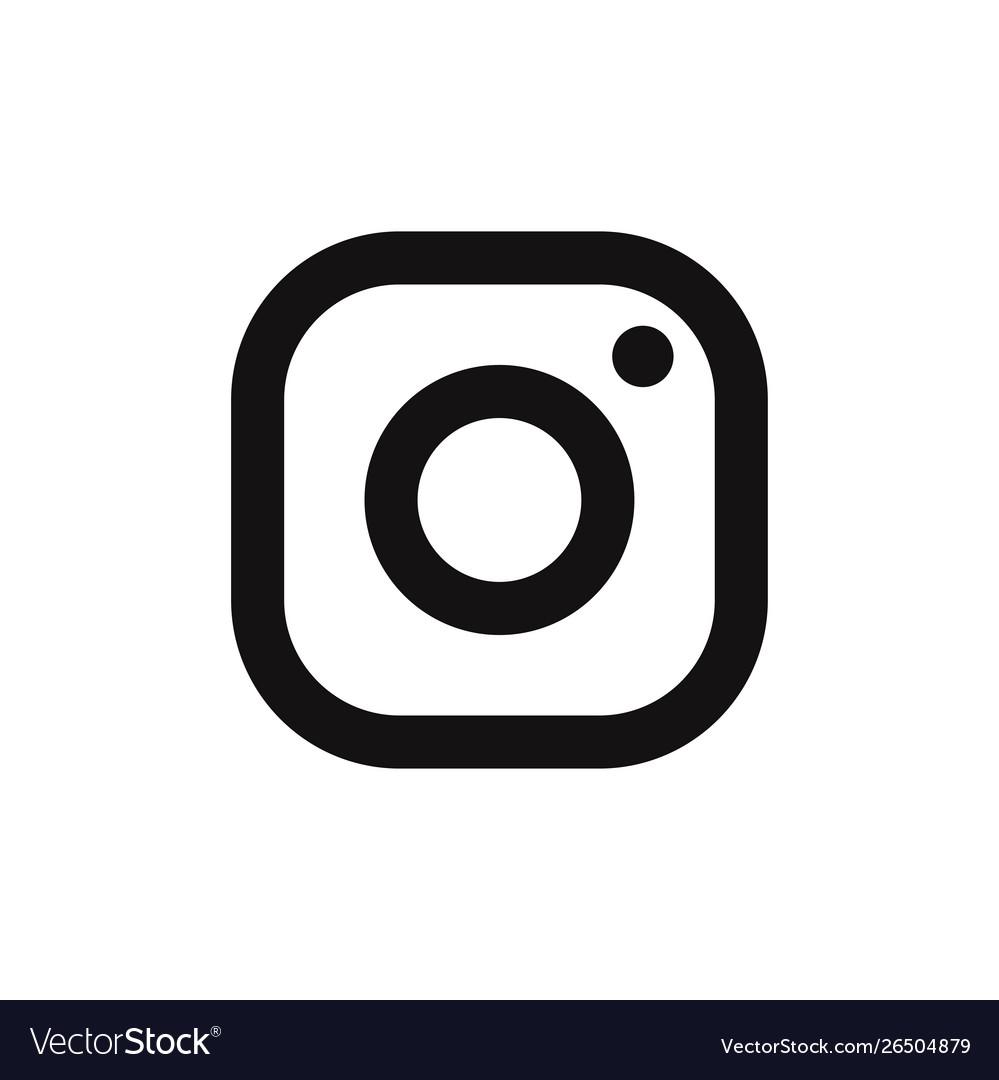Instagram logo icon social media symbol