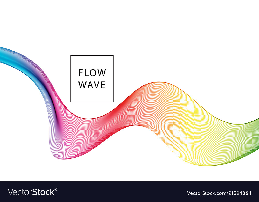 Abstract background spectrum wave
