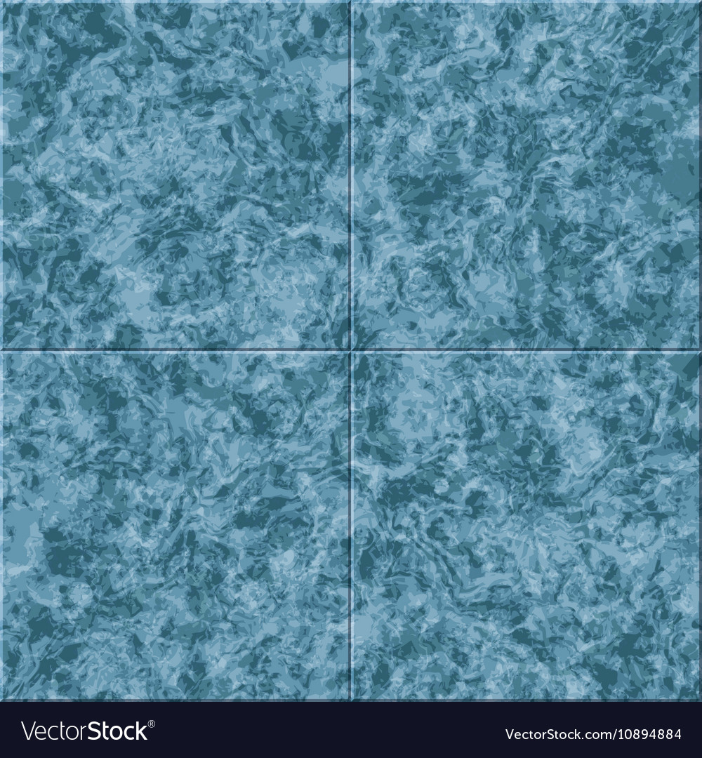 Abstract Blue Marble Seamless Texture Tiled Vector Image