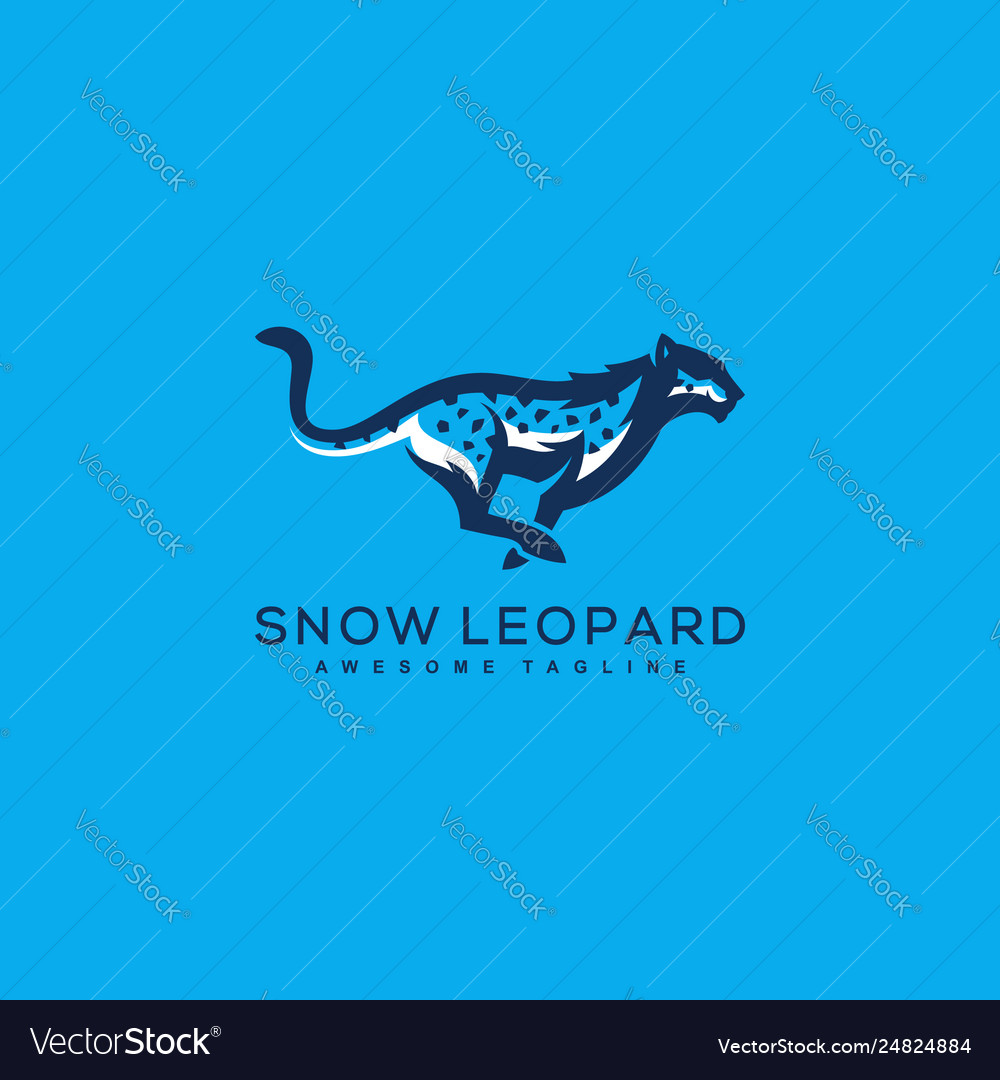 Abstract leopard concept template