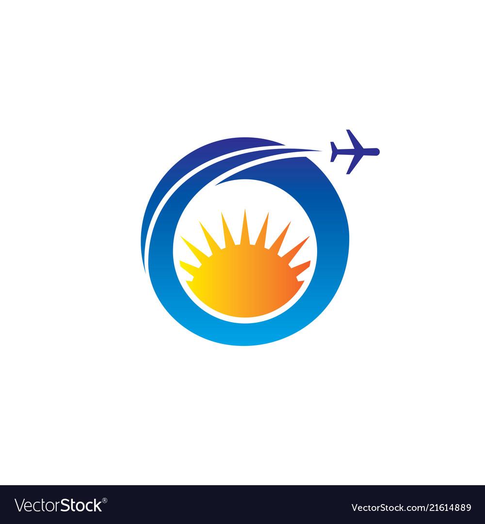 Circle plane sun