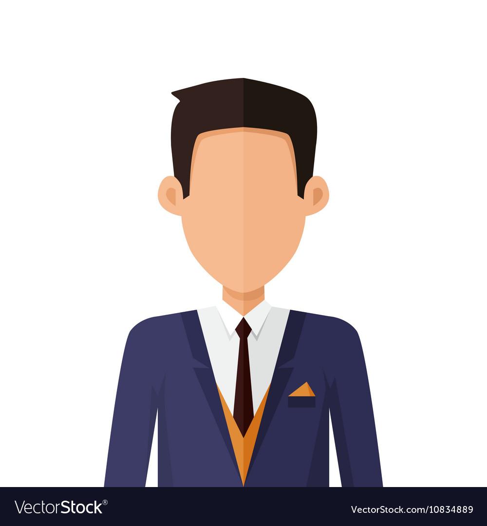 avatar character design man character avatar in flat design