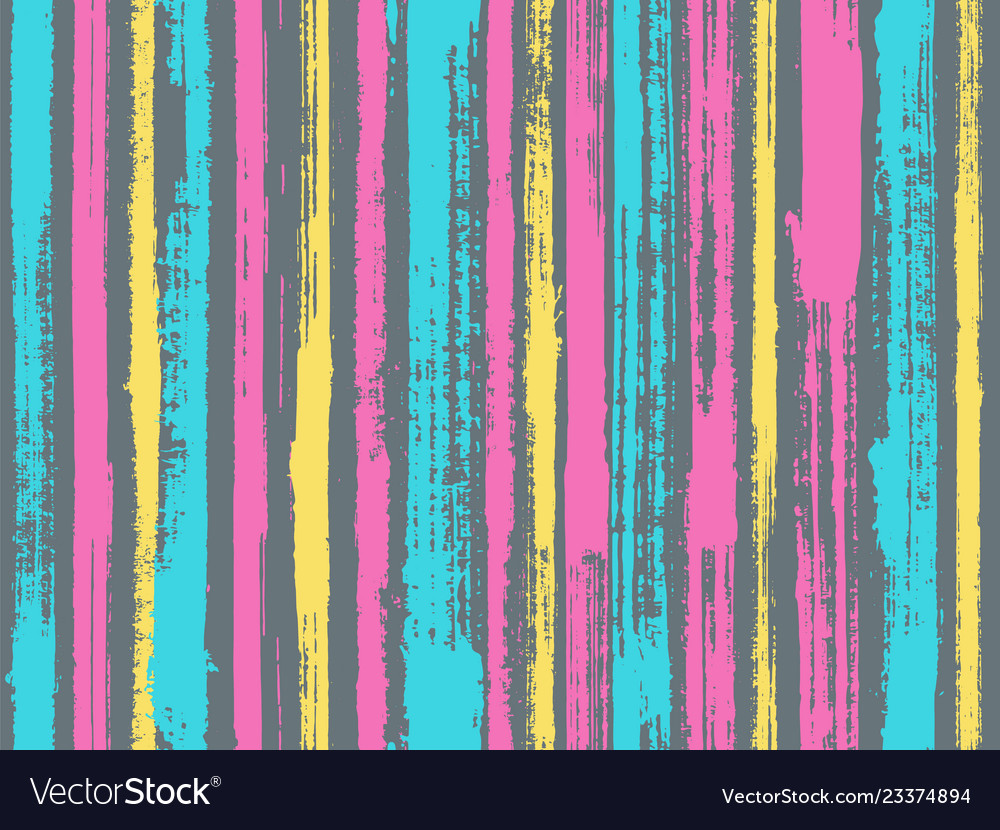 Sloopy gouache vertical lines pattern