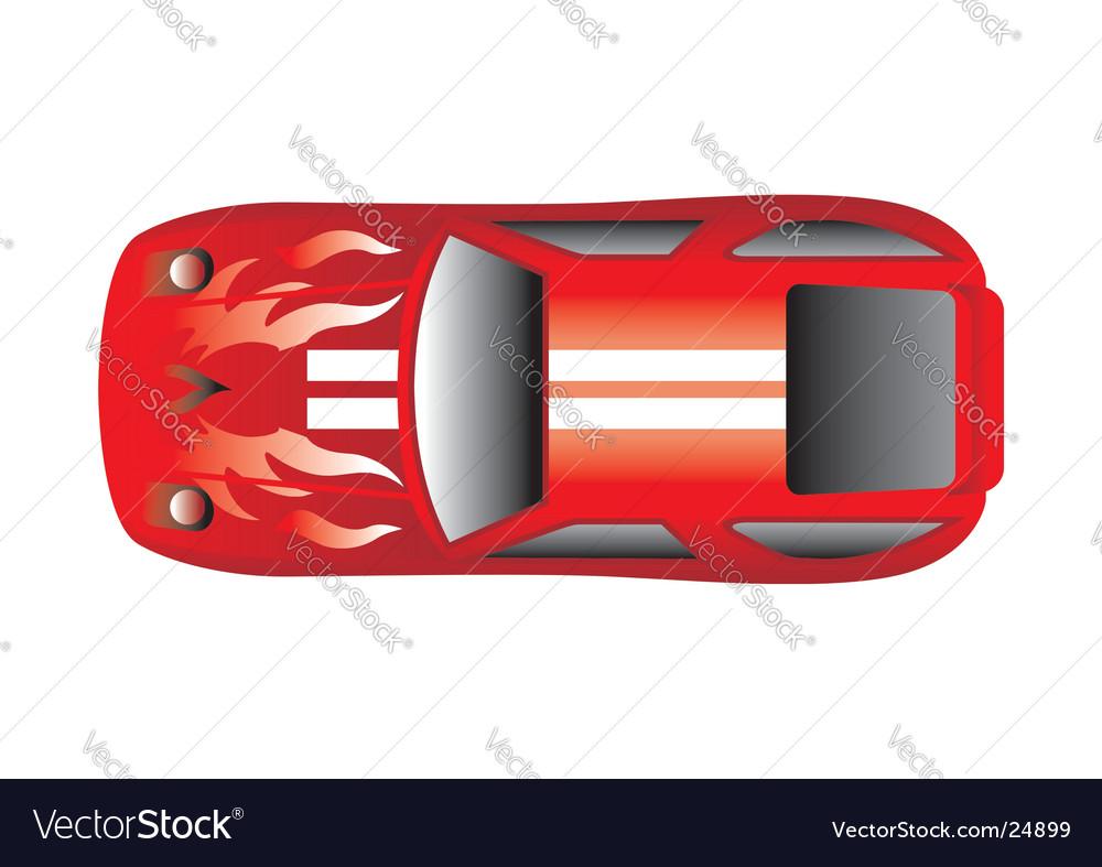 Porsche 928 vector image