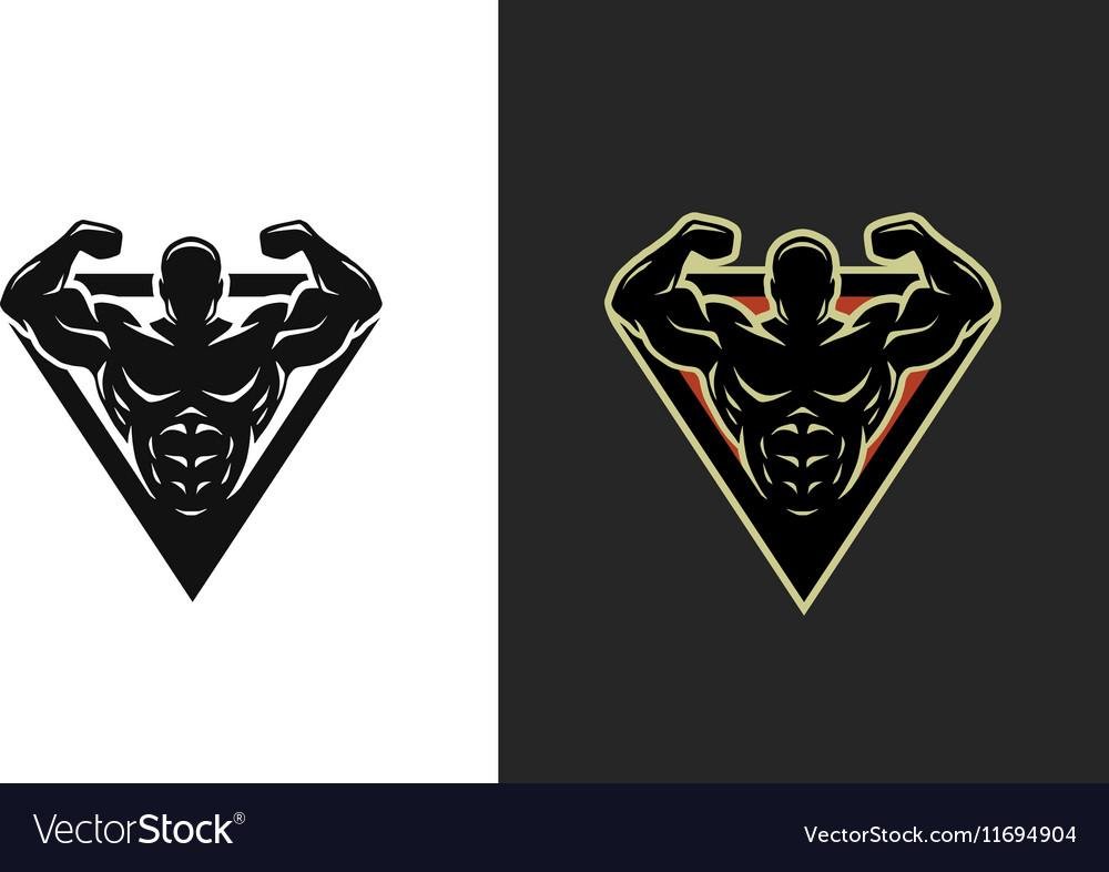 Bodybuilding logo two options
