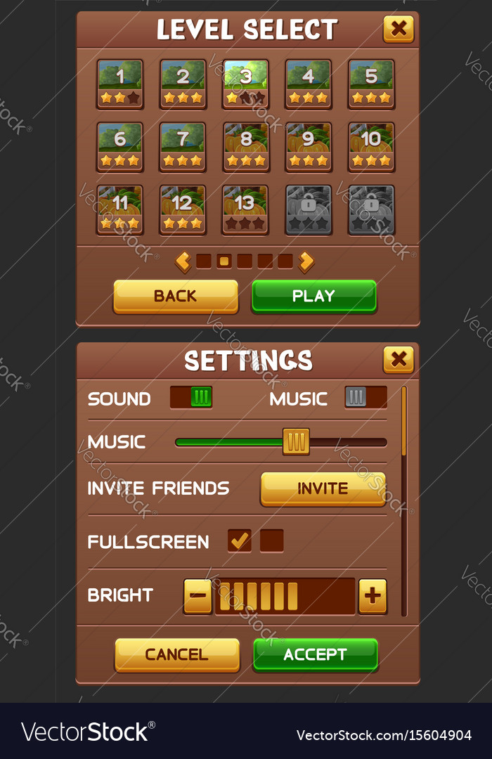 Game gui pack
