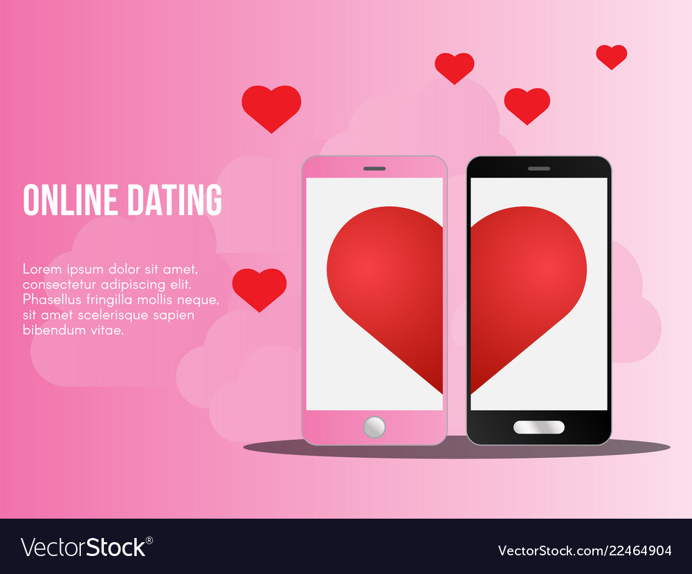 Online dating concept ready to use suitable