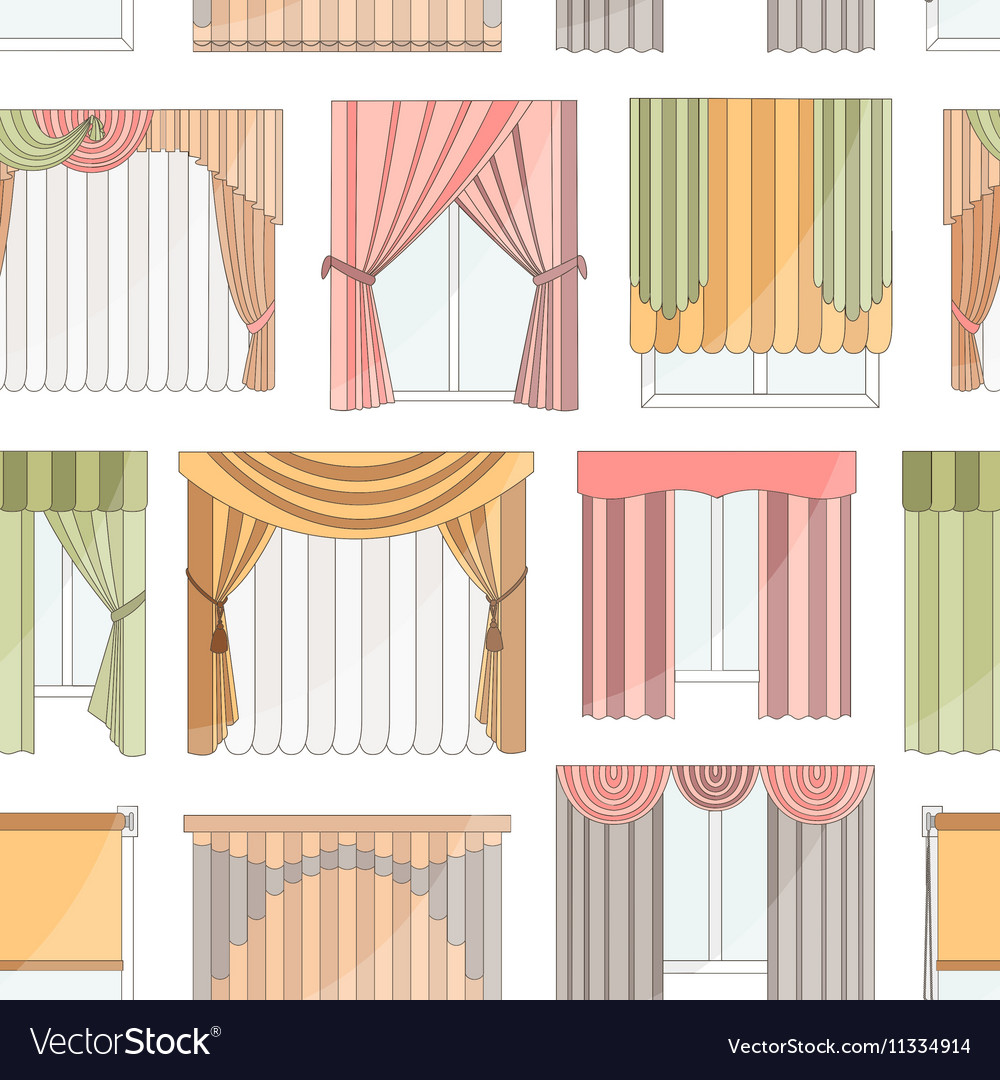 interior design curtains or blinds