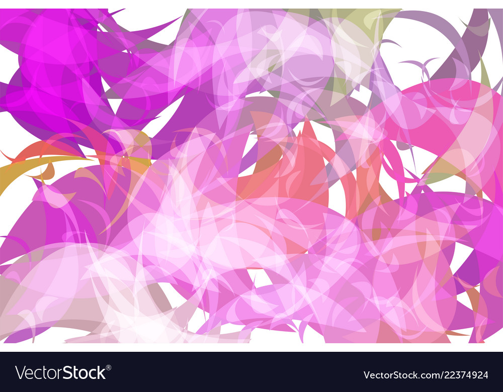 Abstract wave geometric background