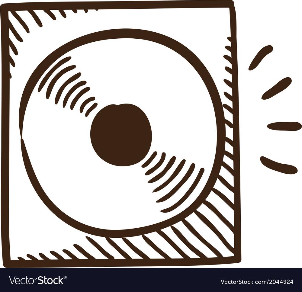 CD or DVD symbol