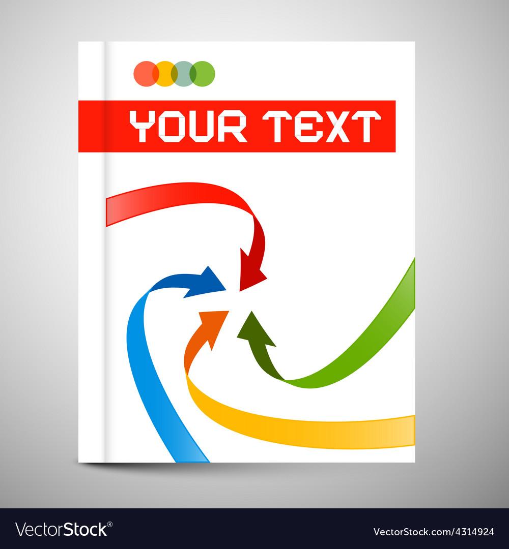 Modern Book or Brochure Cover Design