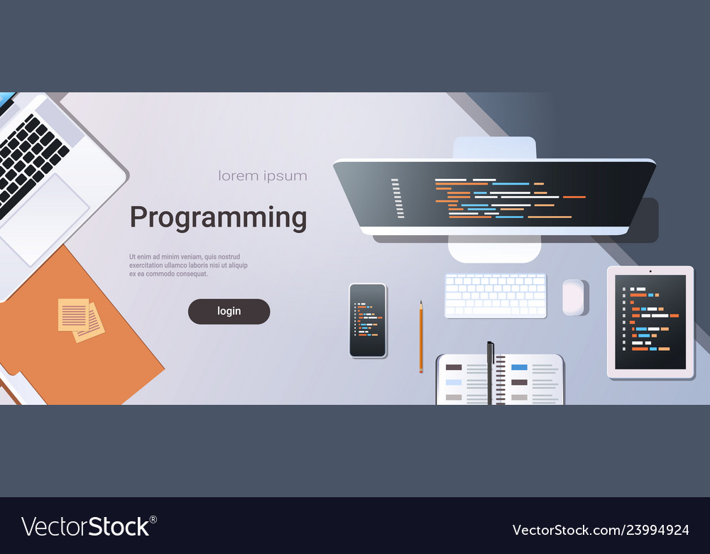 Web site design development program code