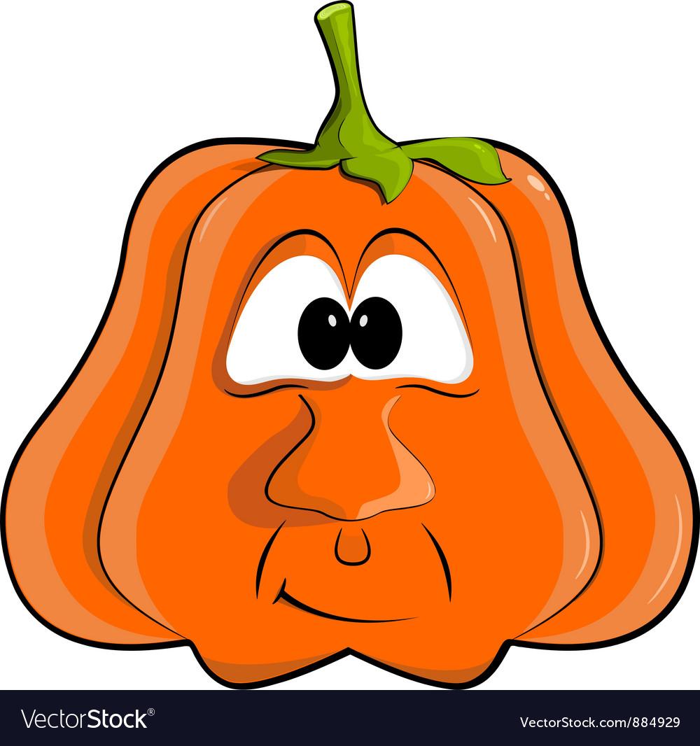 Cartoon pumpkin EPS10