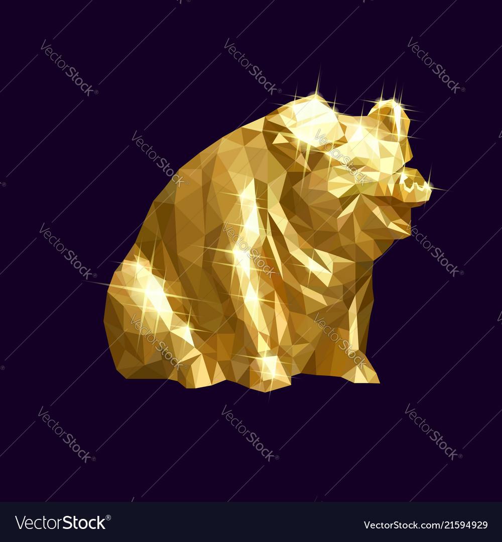 Golden pig low
