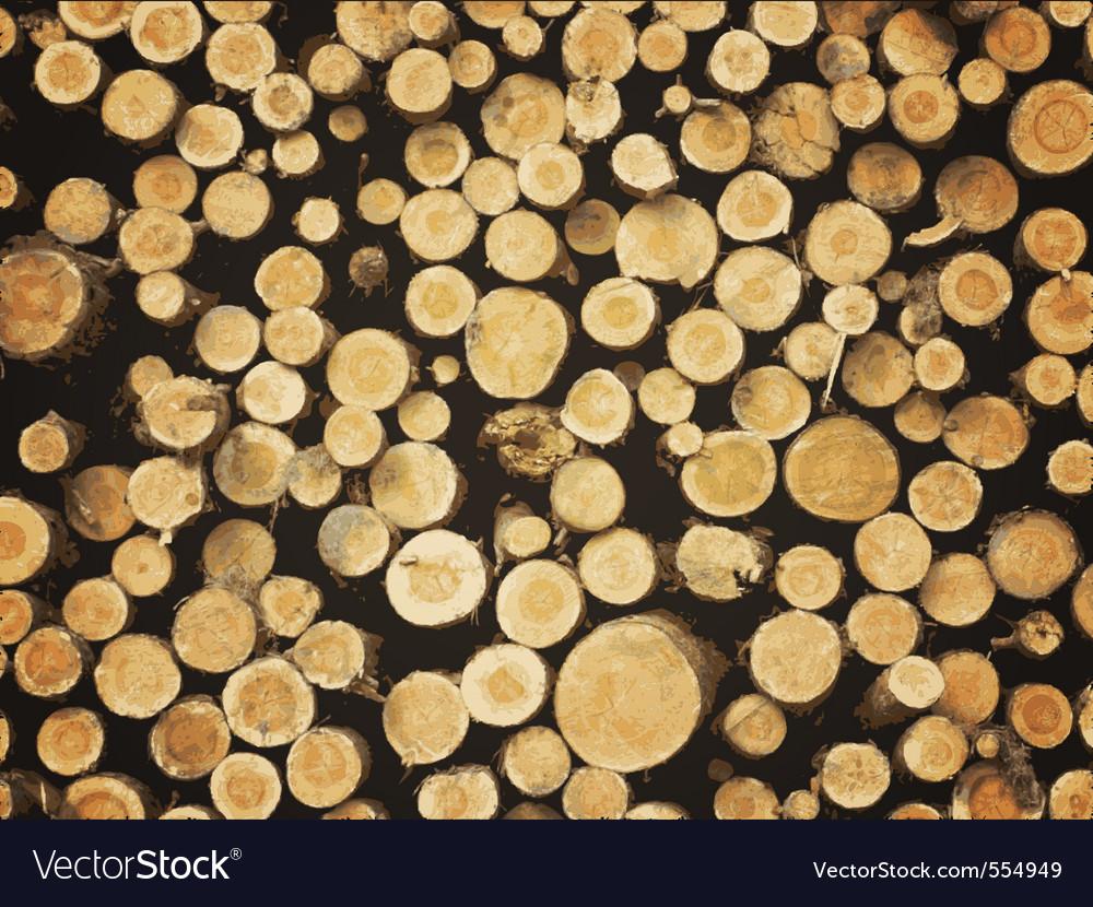 Lumber background vector image